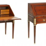Un bureau de style Louis XVI, le modèle « Adrien »…